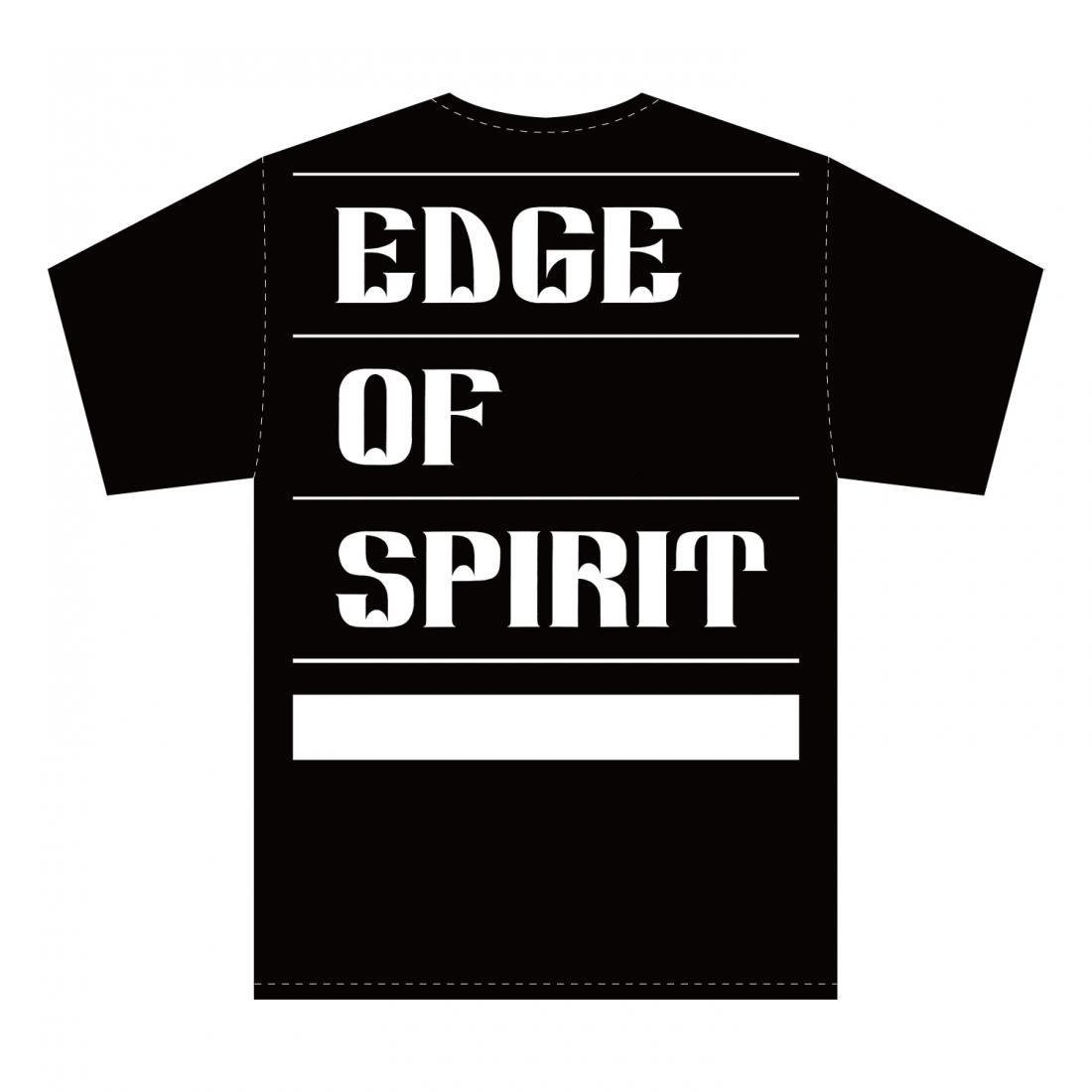 "EDGE OF SPIRIT ""QP"" S/S Tee [BLACK]"