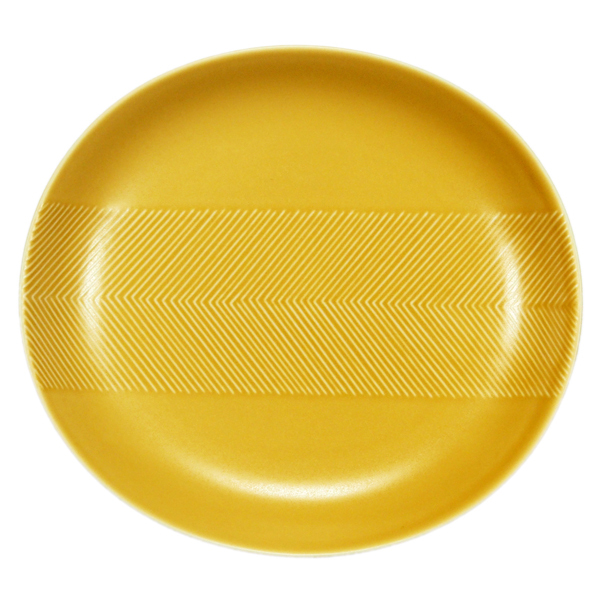 BIRDS' WORDS Tabletop Plate 24.5cm yellow