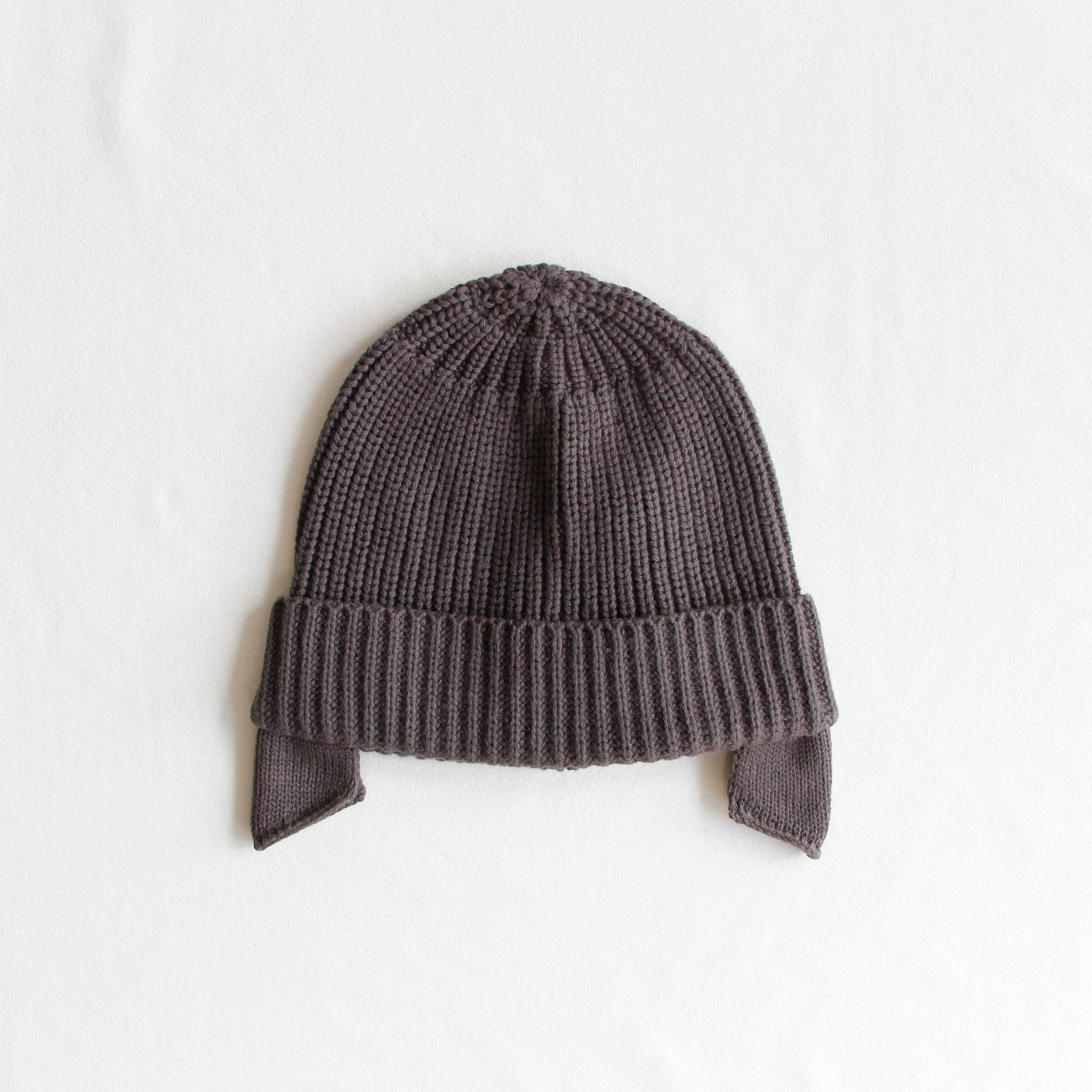 《main story 2019AW》COSY HAT / DK grey