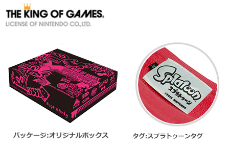 スプラトゥーン レトロジャッジスウェット / THE KING OF GAMES