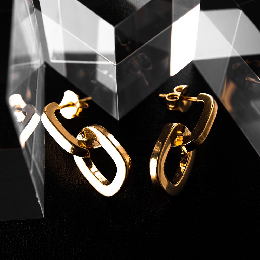 chain pierce silver 925