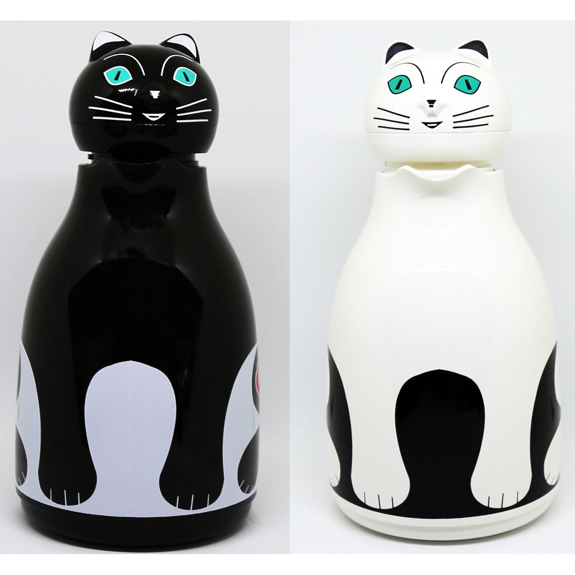猫魔法瓶(サーモキャット1リットル)全2種類