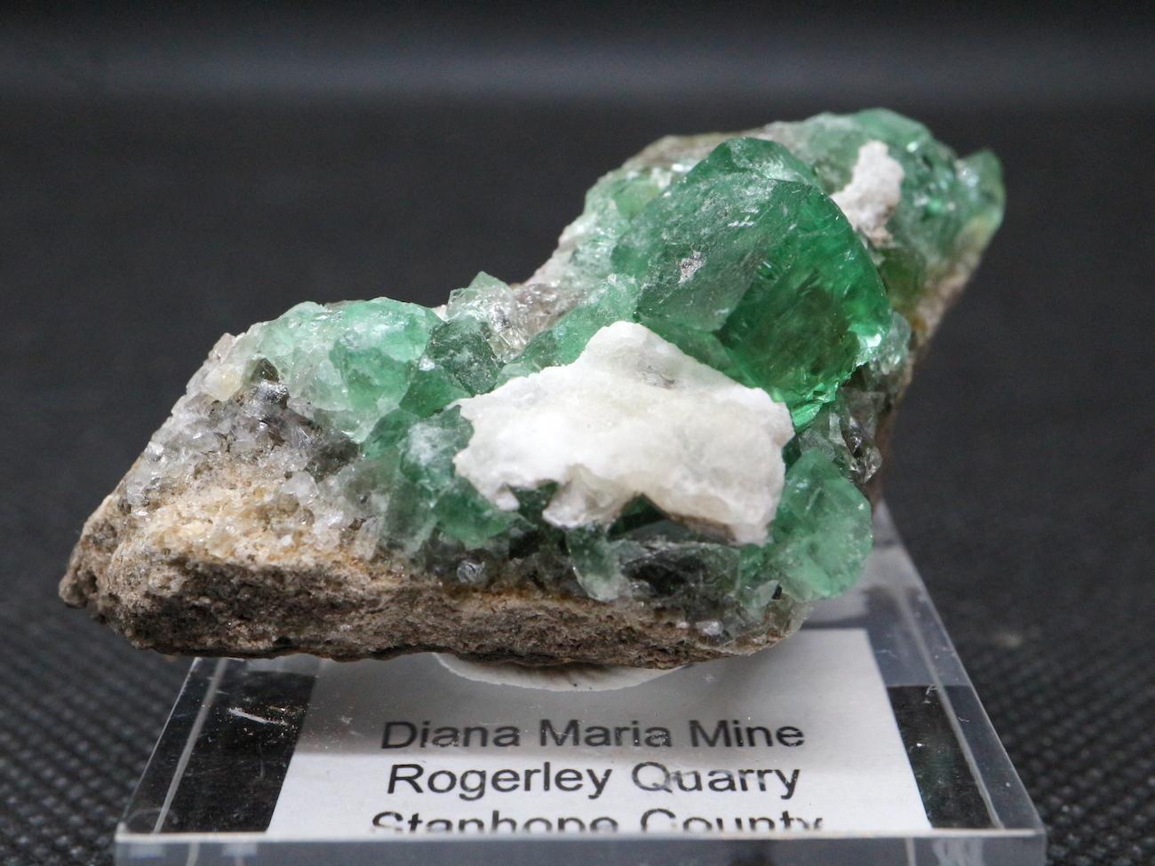 ロジャリー鉱山! グリーン フローライト 蛍石 原石 イギリス産 49g  FL027