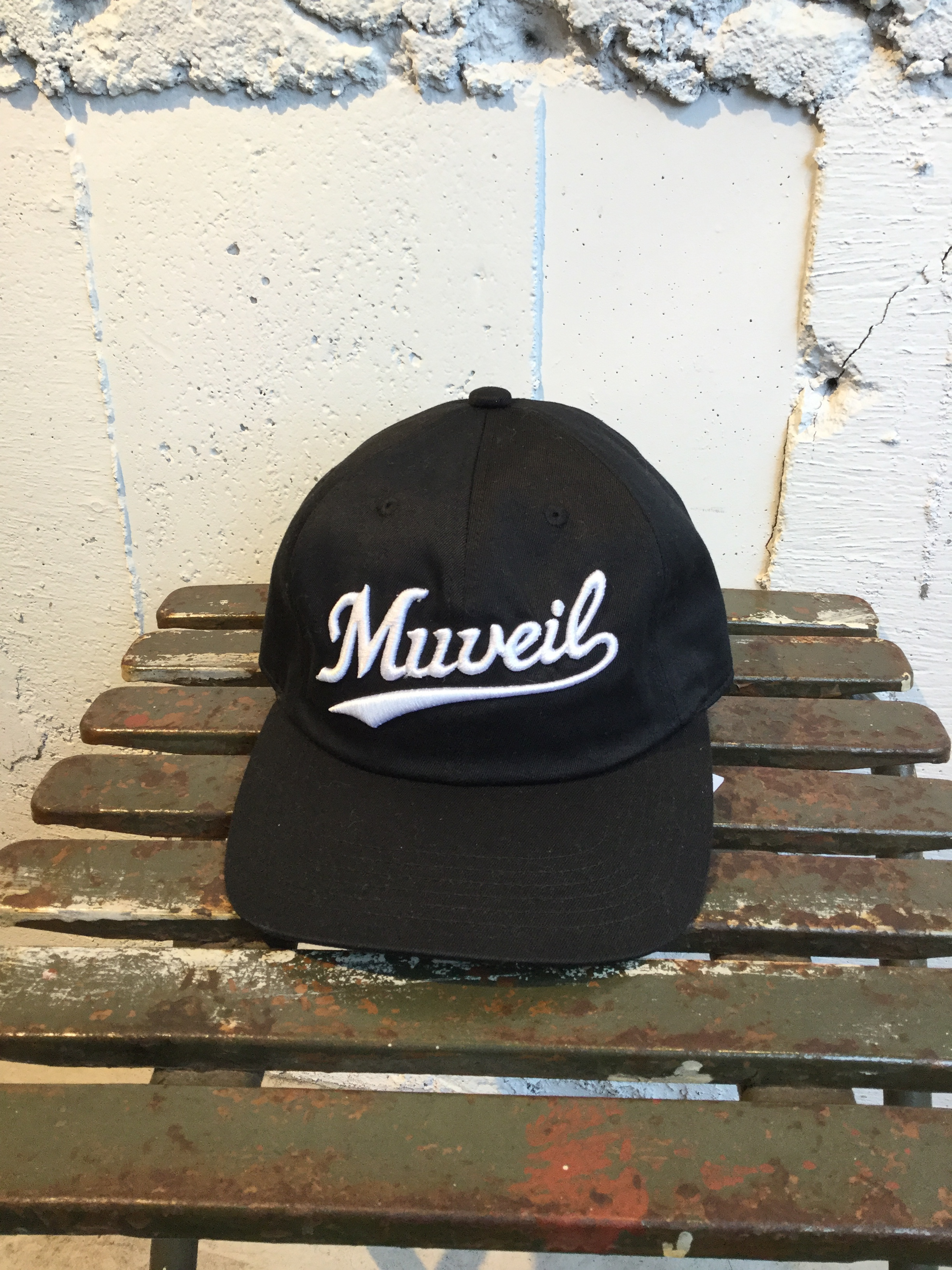 MUVEIL 刺繍CAP (black)