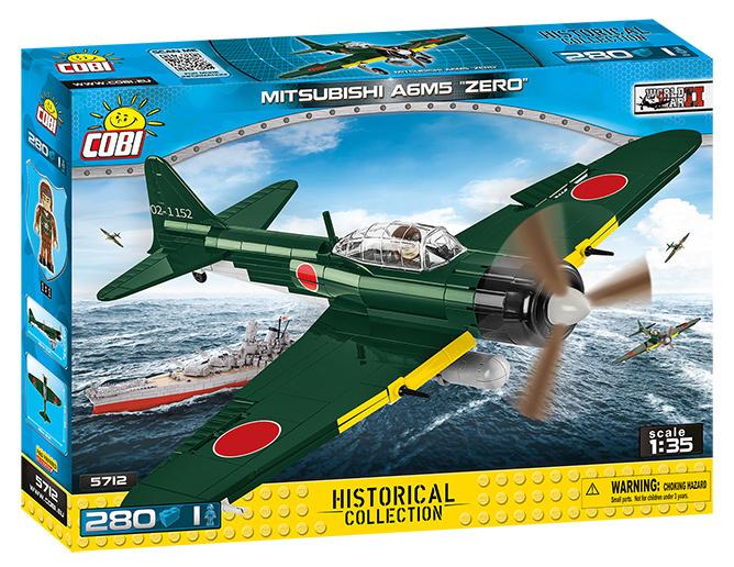 COBI #5712 零式艦上戦闘機A6M5