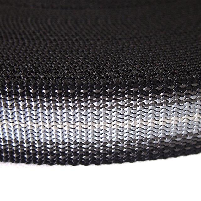 PP 別織グラデーションテープ 30mm ブラック 1m