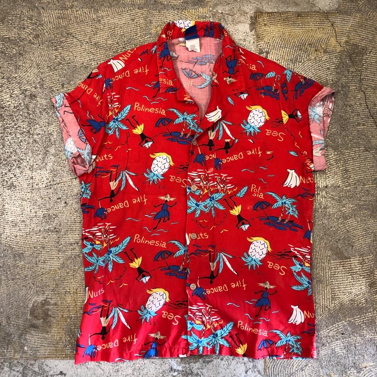 Ocean Pacific 80's Aloha Shirts ¥5,200+tax