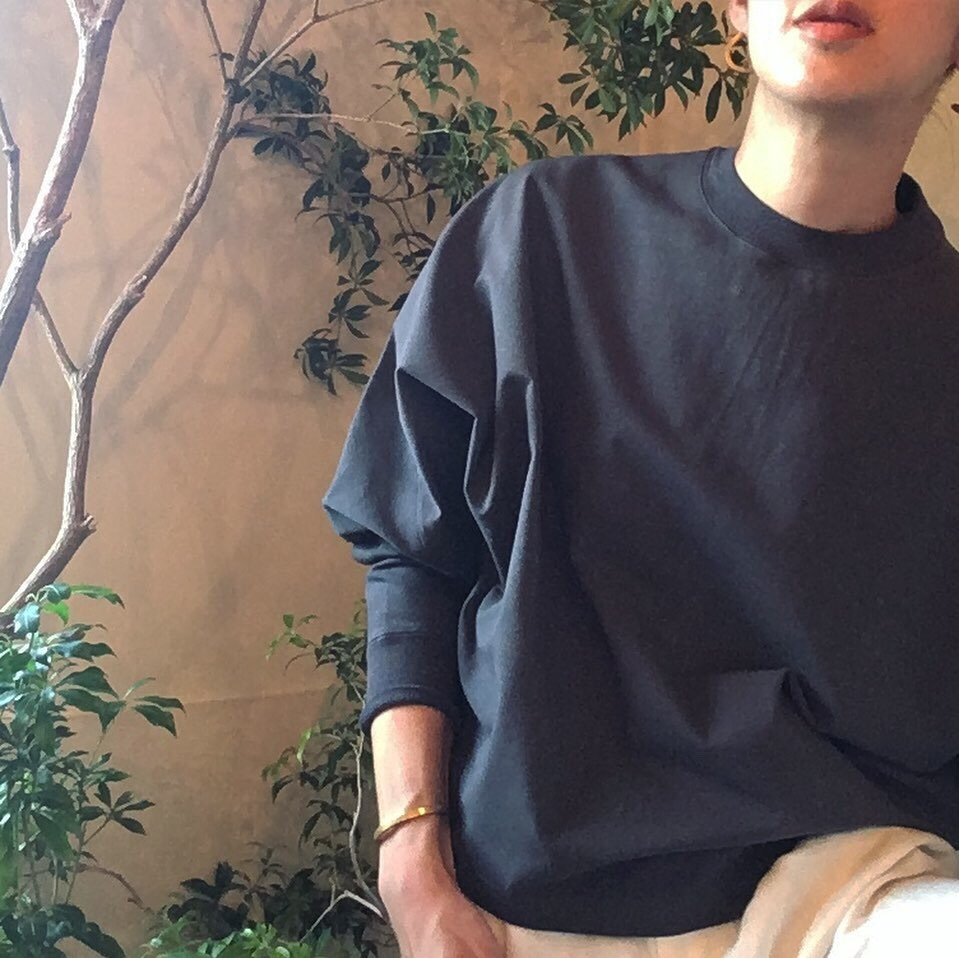 【 OTOÄA 】オトア JERSEY BIG PULL OVER