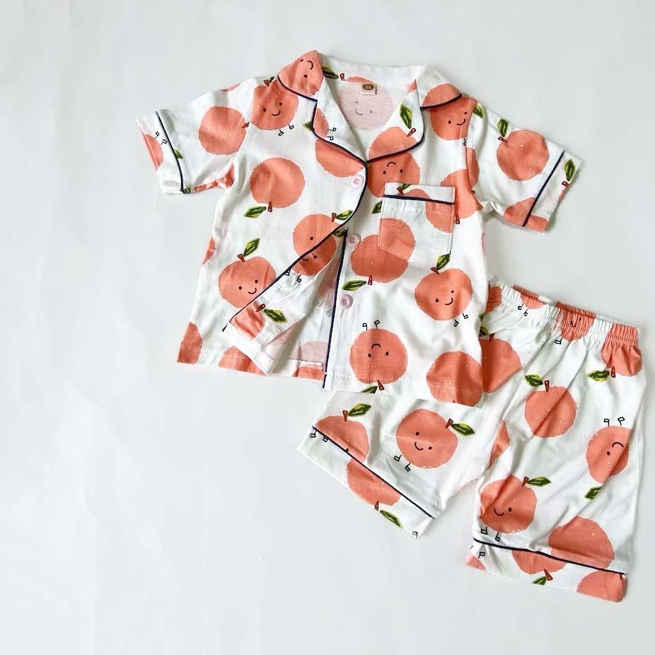 りんご柄パジャマ【R023】