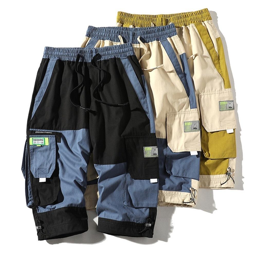 【MEN'S】アウトドア マルチポケット カーゴショーツ ショートパンツ【3colors】MN-A0105