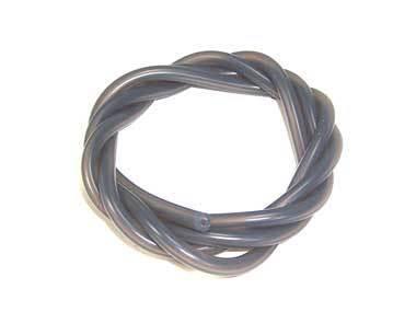 ブラック★外径5mm / 内径2.5mm グロー燃料シリコンチューブ 、カラー(ブラック) 長さ1m