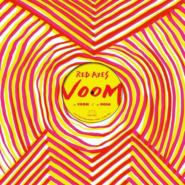 "RED AXES - Voom (12"")"