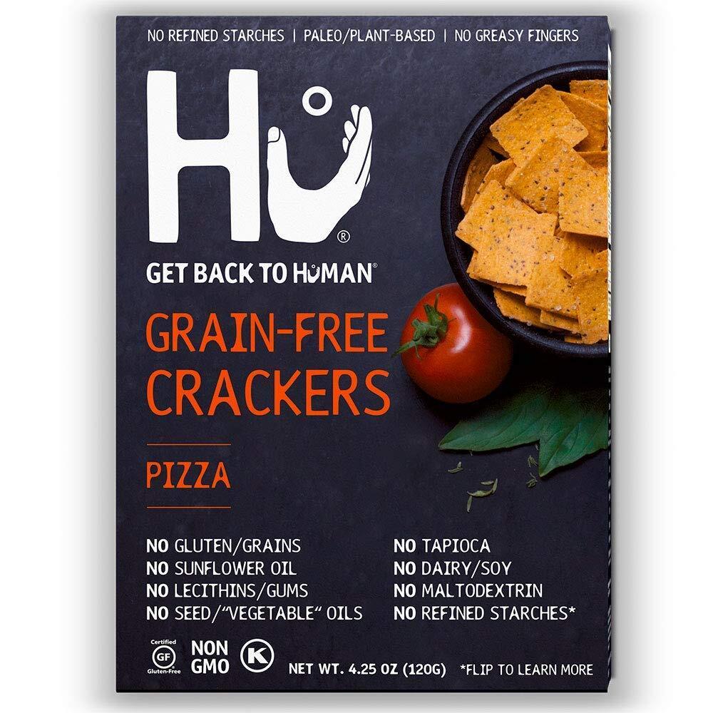 Hu パレオ ヴィーガンクラッカー Pizza 2箱セット