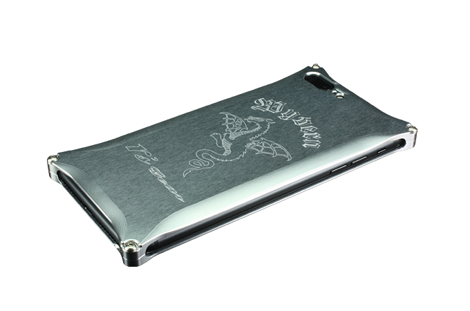 iPhone 7 Plus用 ワイバン スマートフォンケース シルバー[XXSP-0005-SV]