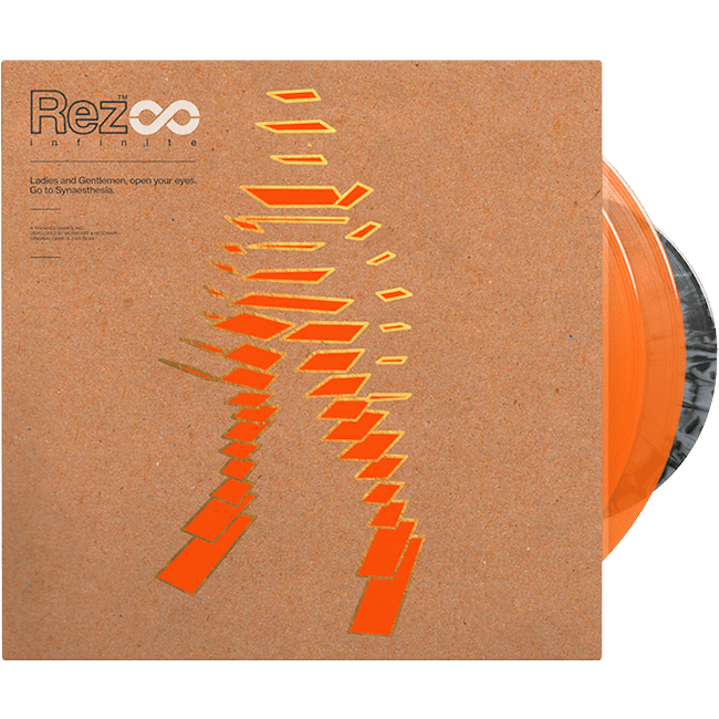 "【Rez Infinite】レコード・セット(2LP+7""+BOOK / 日本限定特典付き) - 画像1"