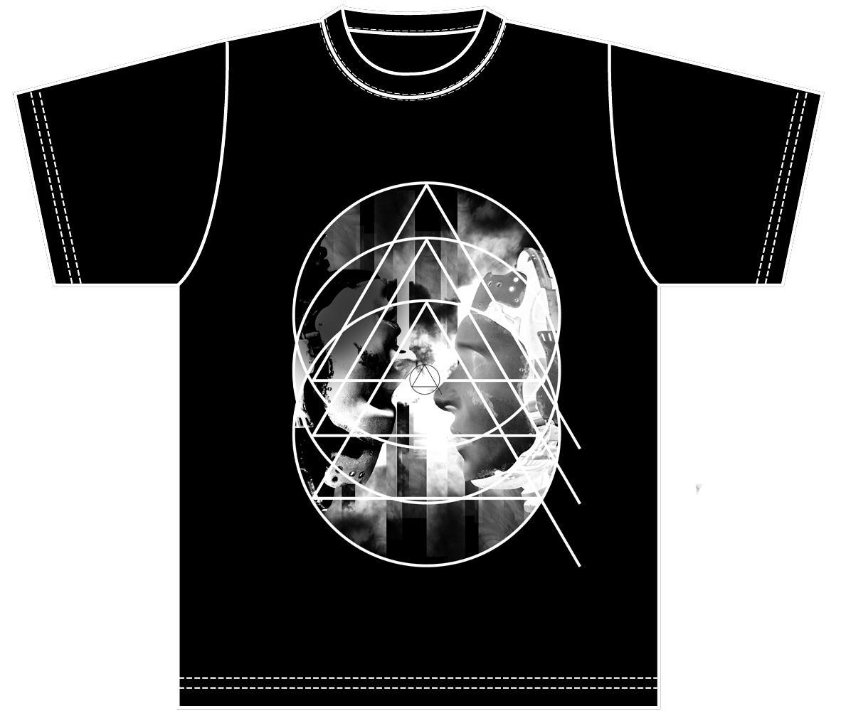 嘘影 黒Tシャツ
