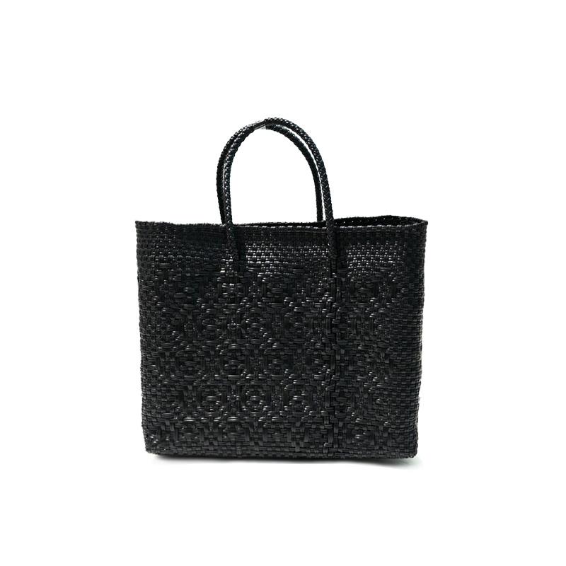 MERCADO BAG ROMBO-Black(XS)