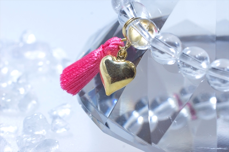 Love Crystal ラブクリスタル【パワーストーンブレスレット 】 - 画像3