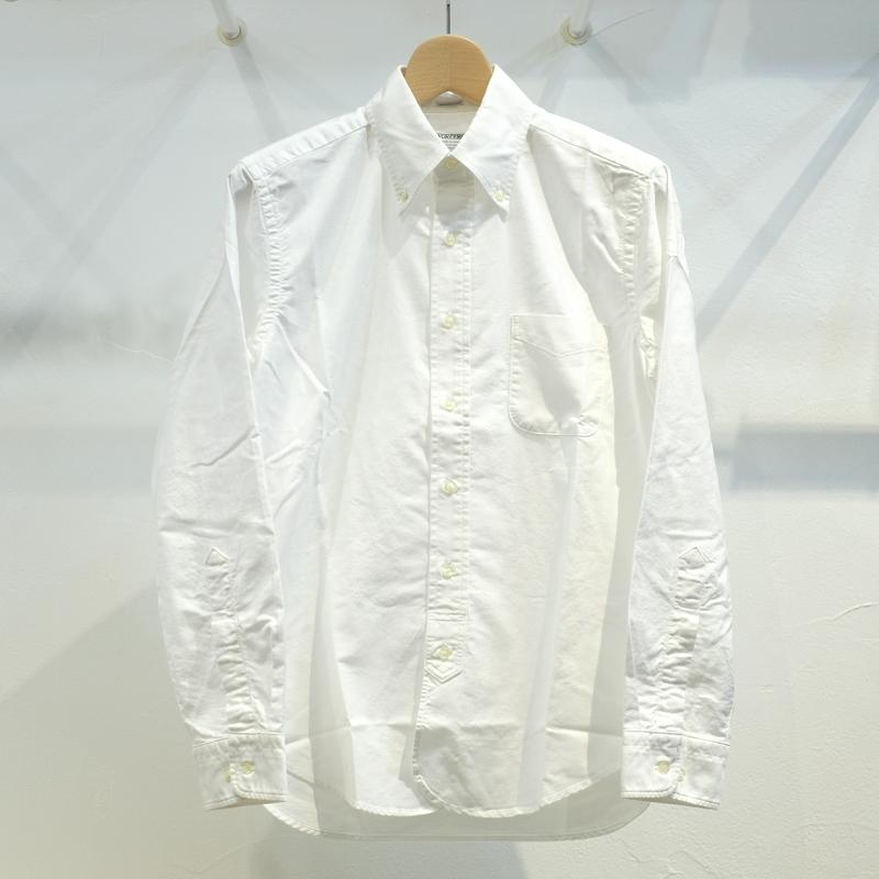 Workers(ワーカーズ) Lot20スーピマオックスボタンダウンシャツ ホワイト