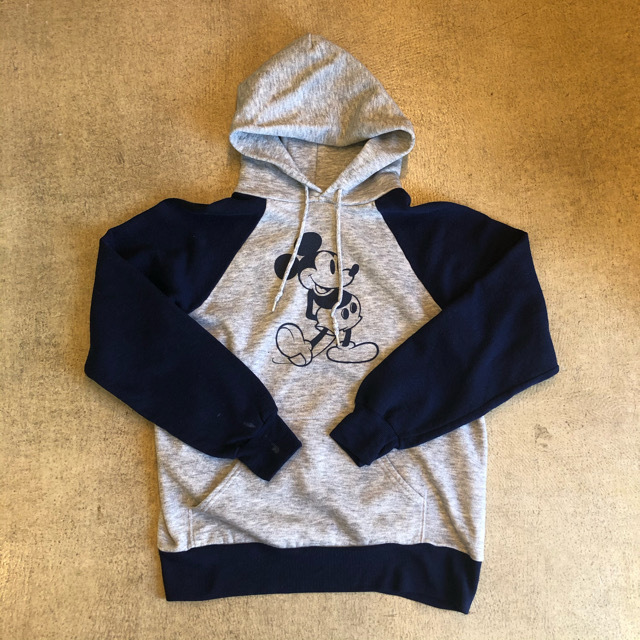 Mickey Mouse Raglan Hoodie ¥5,900+tax