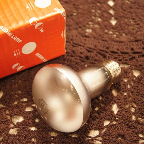 白熱電球 E26 60W レフランプ