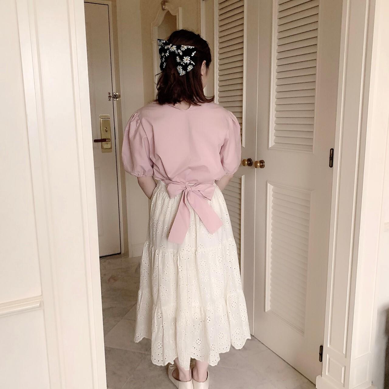 【meltie】daisy ribbon valetta