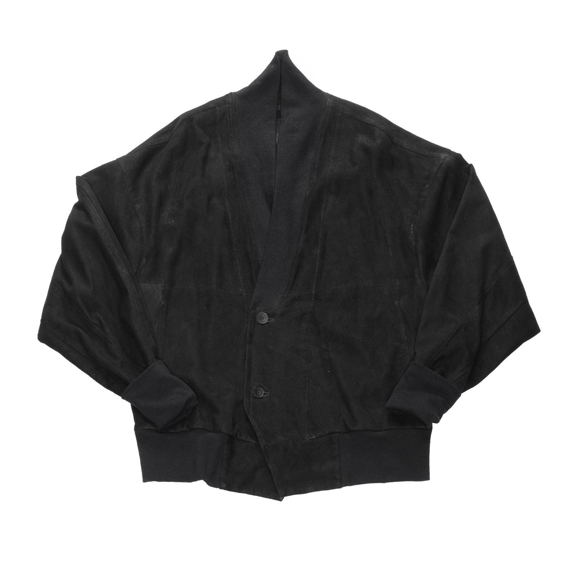 637BLM7-BLACK / ガウンブルゾン