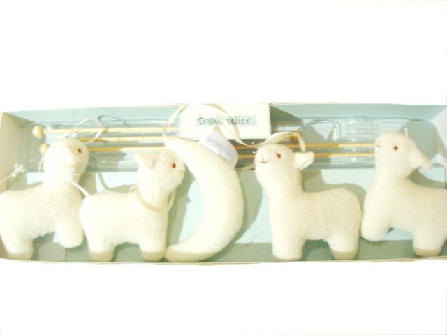 Trousselier トラセリア モビール ムーン&ムートン 月と羊