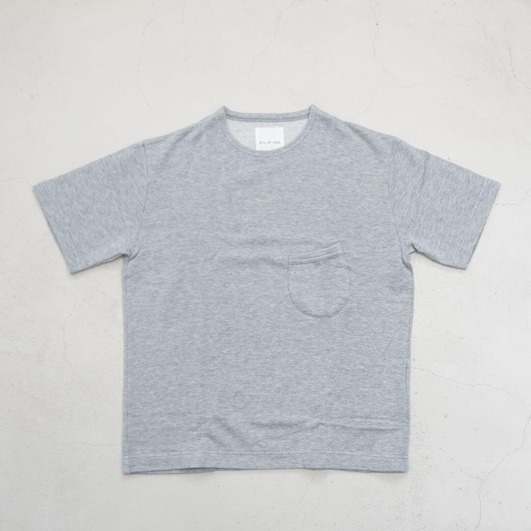 STILL BY HAND スティルバイハンド ミニ裏毛Tシャツ ユニセックス 【返品交換不可】 (CS0461)