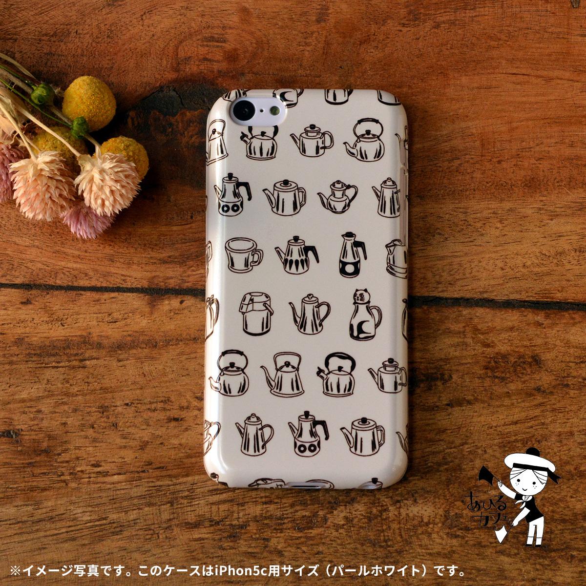 【限定色】アイフォン5c ケース 猫 iphone5c ケース ねこ iphone5c 猫 ケース iphoneケース 猫 おしゃれ キラキラ ポット/あひるカフェ
