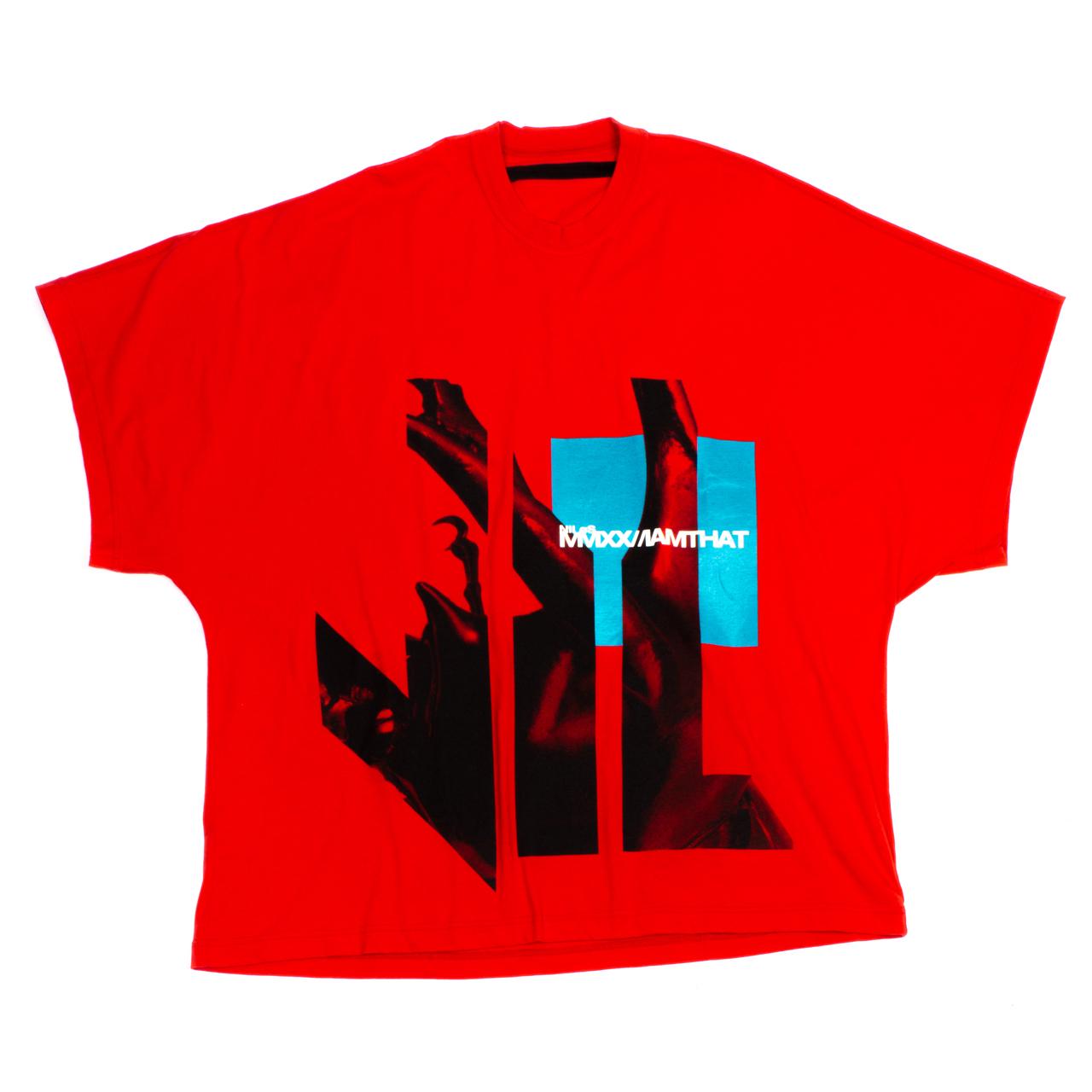 720CPM4-RED / プリント カイト Tシャツ