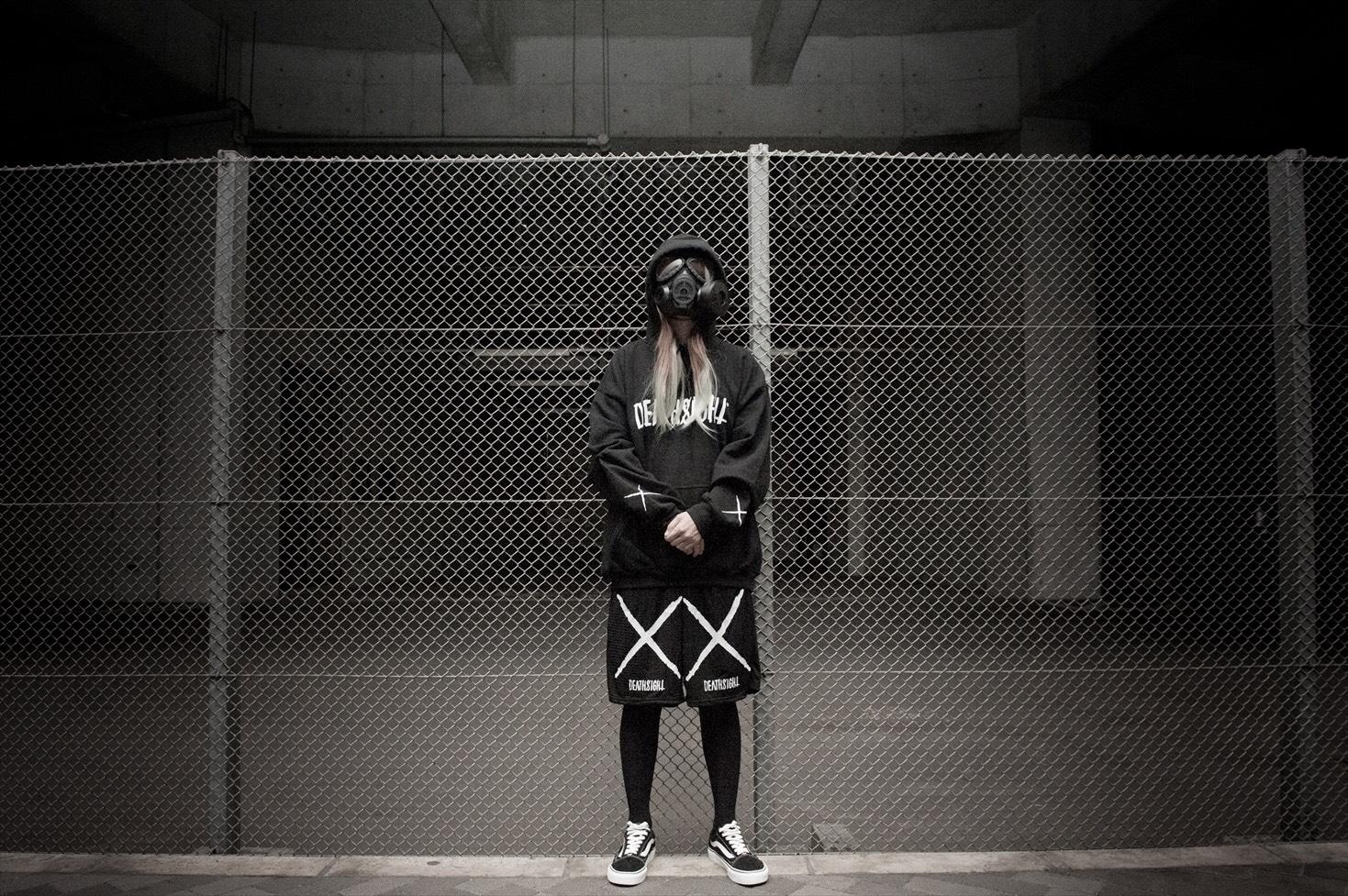 """""""deathsight"""" HOODIE / BLACK - 画像5"""