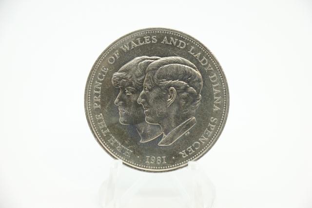 25ニューペンス ロイヤルウェディング硬貨