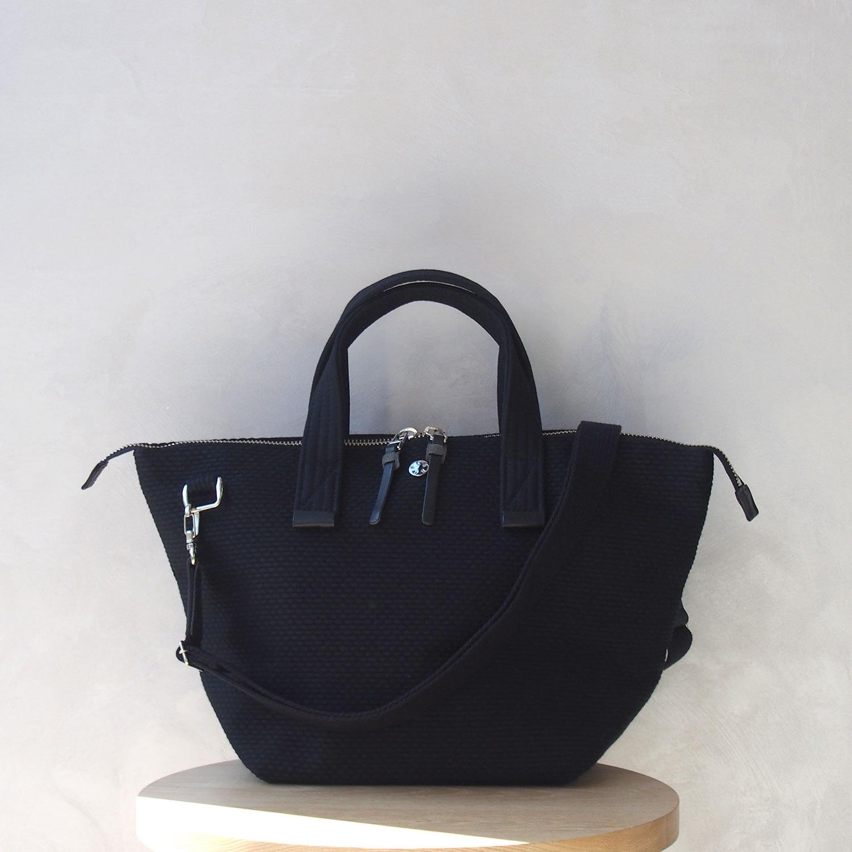 CaBas N°33 Bowler bag small + Shoulder strap Black