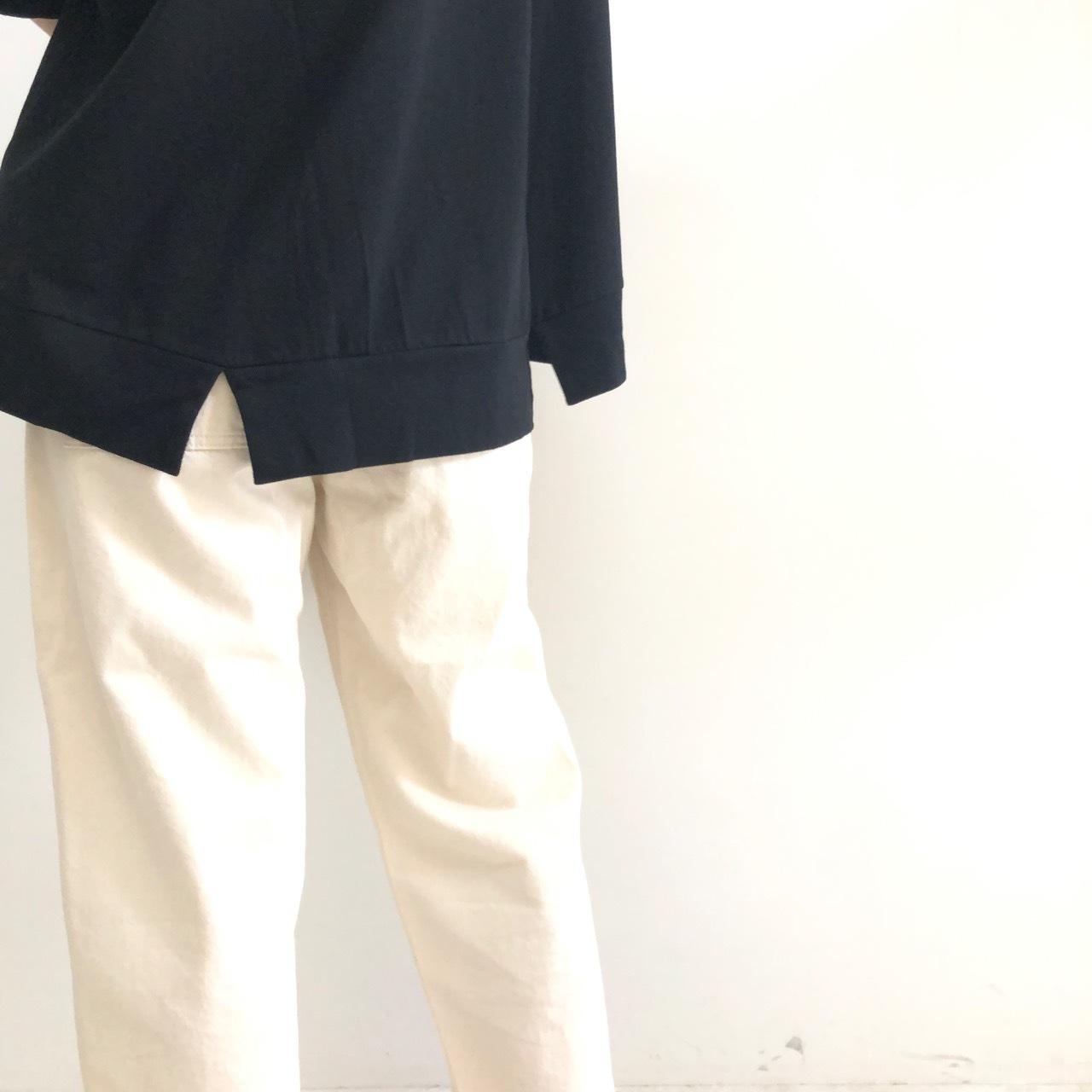 【 siro de labonte 】- R923228 - バックスリットTシャツ