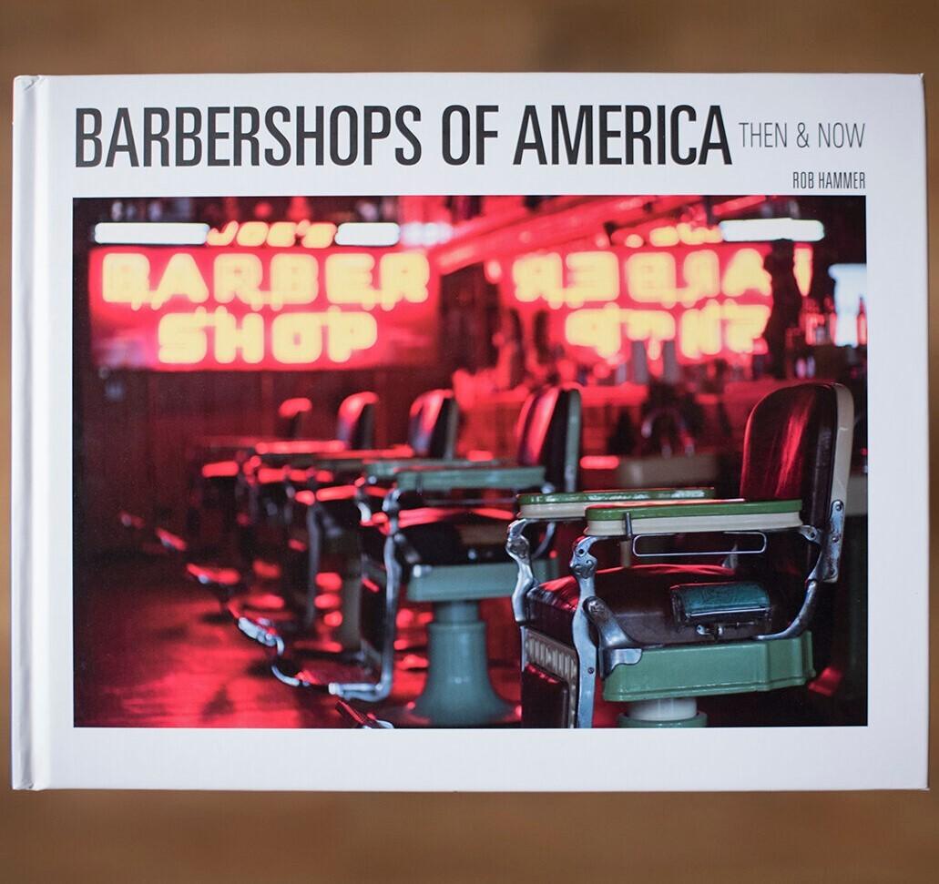 【角に傷あり500円オフ】写真集BARBERSHOP OF AMERICA NOW&THEN 2020