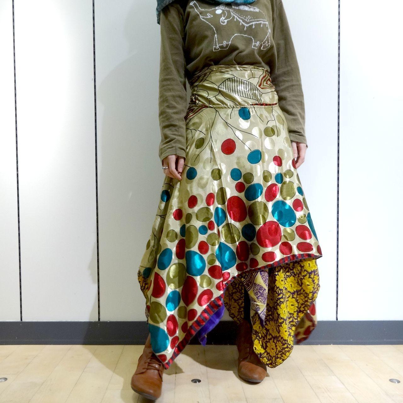 vdsz-010 ビンテージシルクサリーギザスカート「シャボン」