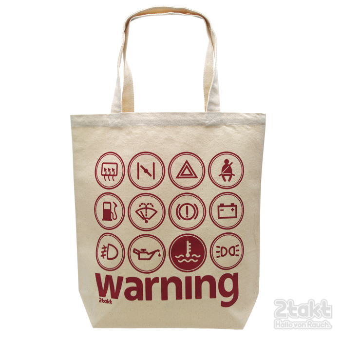 2takt Tote bag/Warning