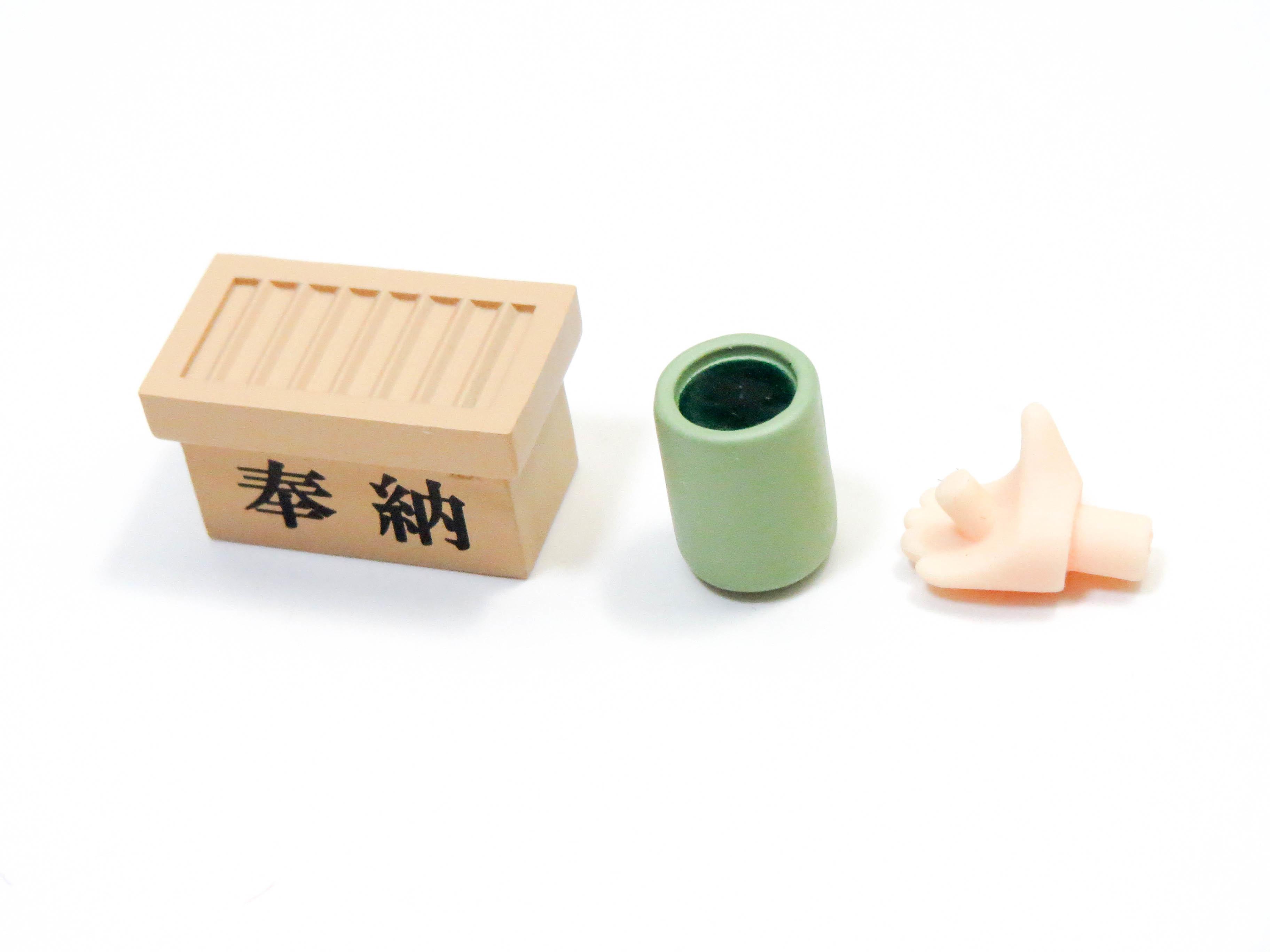 再入荷【700】 博麗霊夢 2.0 小物パーツ 賽銭箱とお茶 ねんどろいど