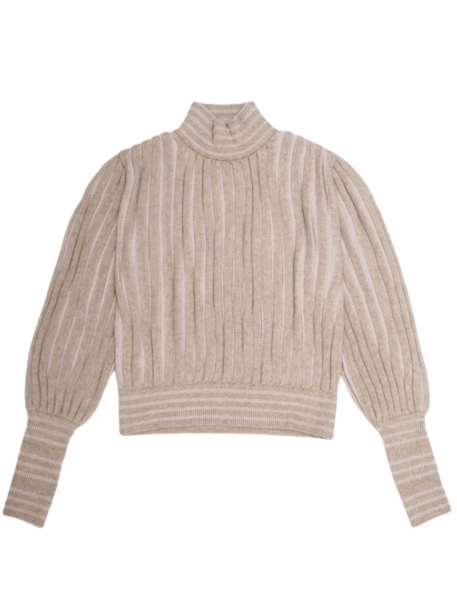 【FILL THE BILL】ACCORDION KNIT PULLOVER