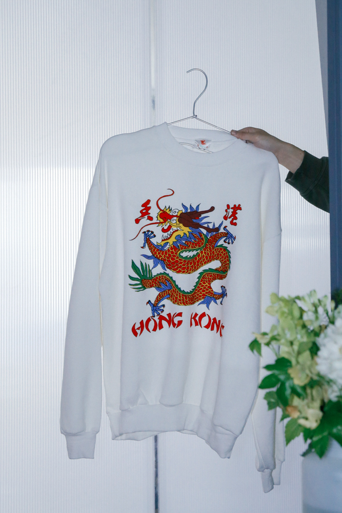 80's Hongkong Souvenir Sweat
