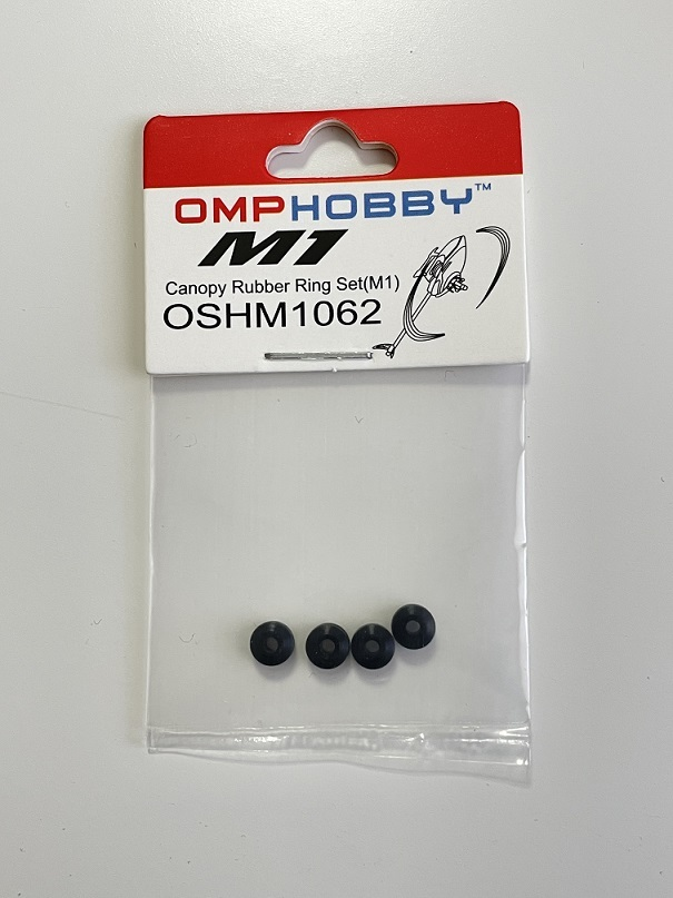 ◆M1 キャノピーラバーナット 4ps  OSHM1062 (ネオヘリでM1購入者のみ購入可)