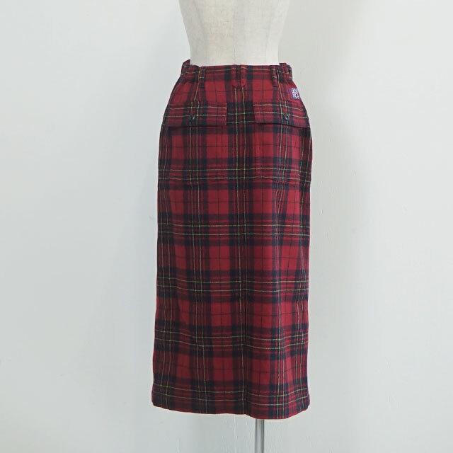 GUNG HO ガンホー TARTAN CHECK BAKER TIGHT SKIRT タータンチェックベイカータイトスカート (品番gh-934-2009)