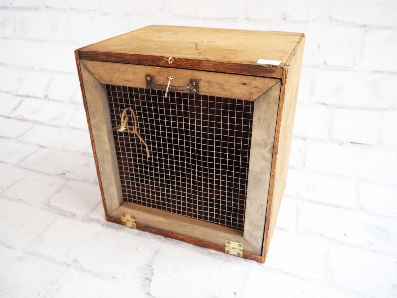 品番2848 木箱 木製 ケージ ボックス USA ヴィンテージ