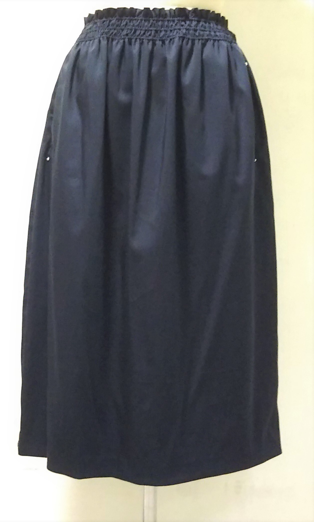 CUPRO SATIN COCOON SKIRT