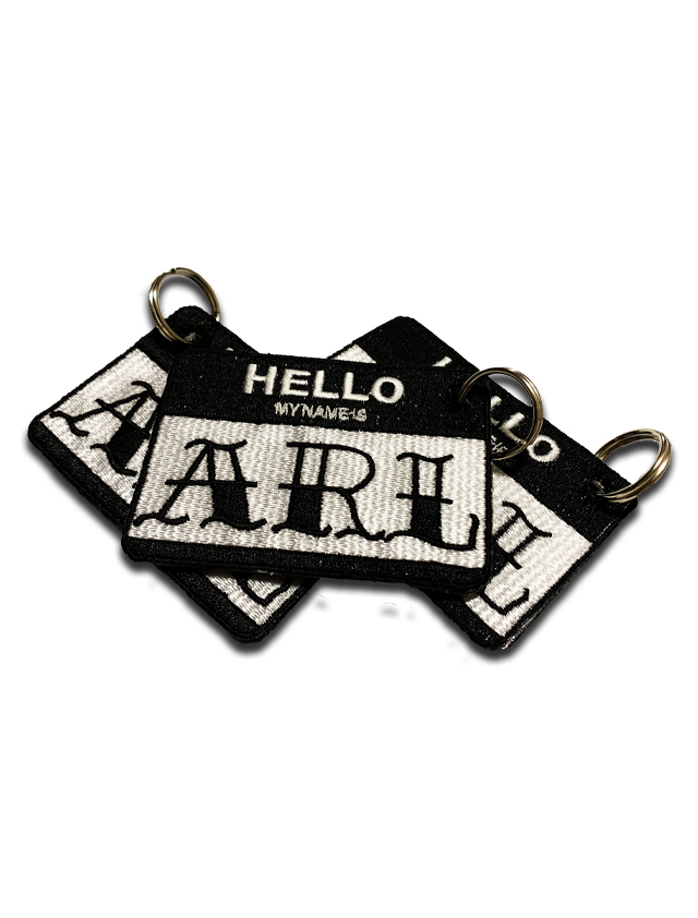 LOGO PATCH KEY HOLDER