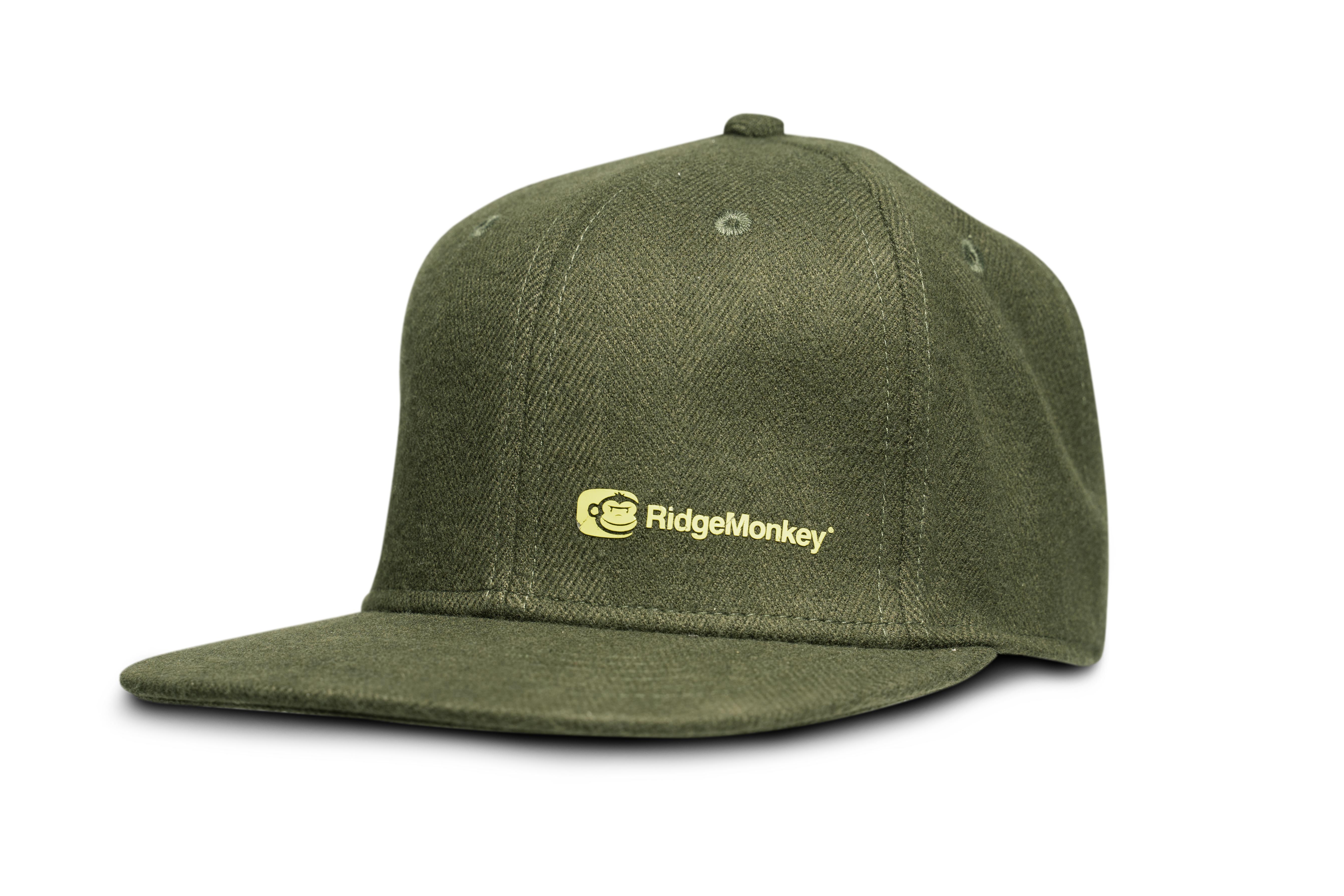 "RidgeMonkey ""APEarel Dropback Snapback Cap"" Green"