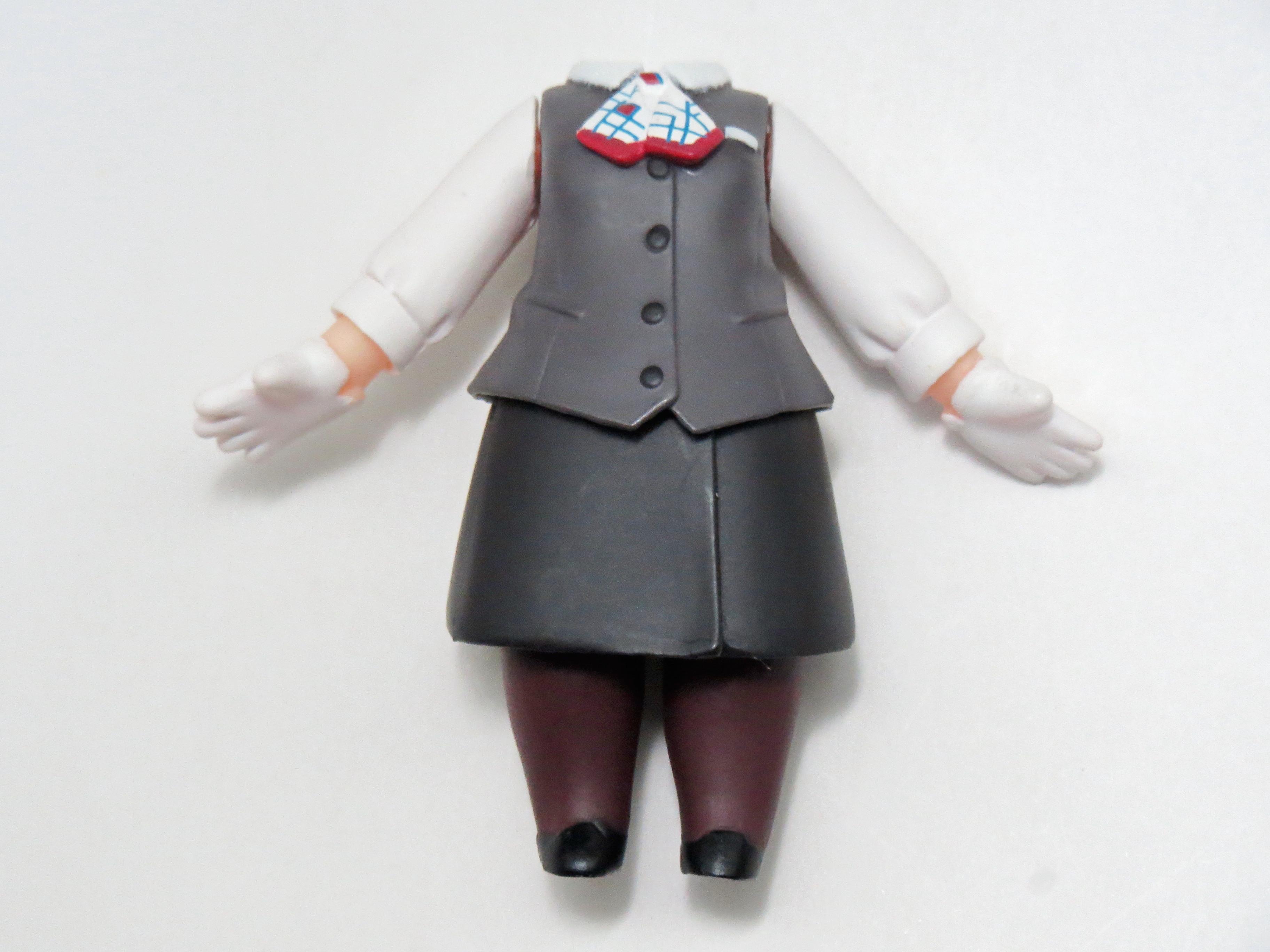 【347】 鷹野みゆき 体パーツ 制服 ねんどろいど