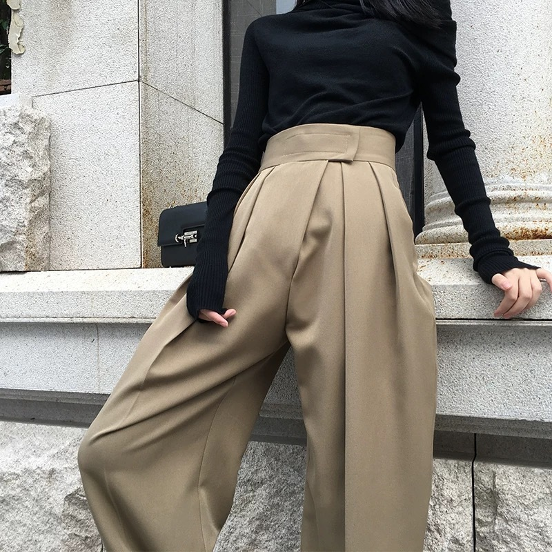 simple wide pants