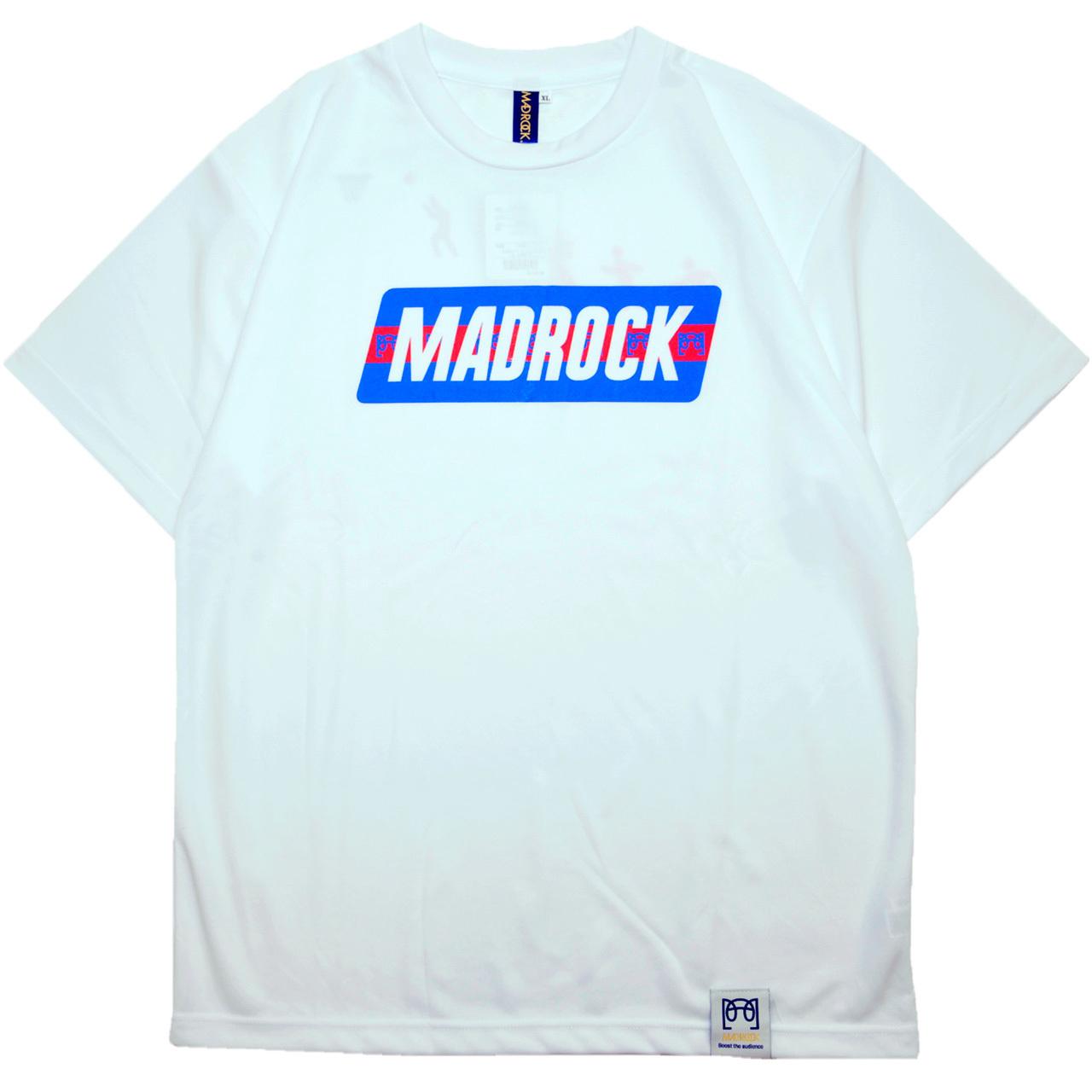 マッドロック - ブレインボール - Tシャツ / ドライタイプ / ホワイト / MADROCK - BrainBall - TEE